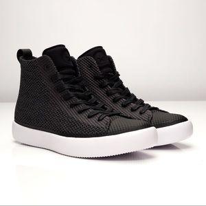 Converse All Star Modern Hi Black/Dark Grey Sz 6W